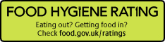 banner for the food hygiene rating scheme