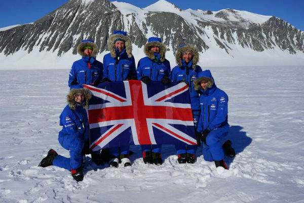 major nic wetherill in antarctica