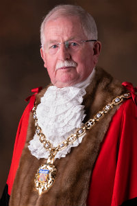 Mayor for 2018/19, Councillor Bernard Fisher