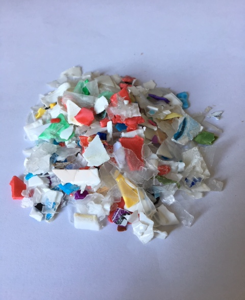 Image of plastic PP flakes