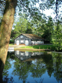 Pittville boathouse