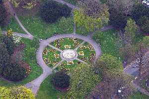 Sandford Park from the air