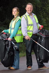 Cheltenham PACT litter picker day