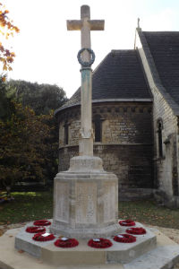 limstone war memorial at st peter's restored