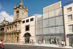 image of proposed new Art Gallery