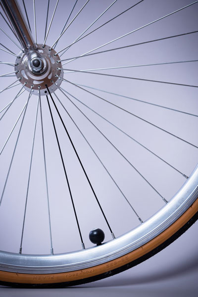 Wheel from a bicycle