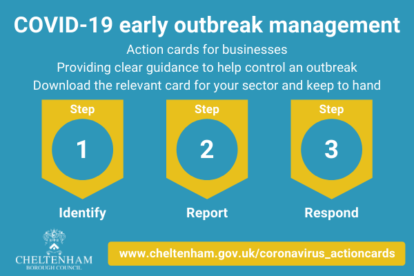 Action cards for Coronavirus