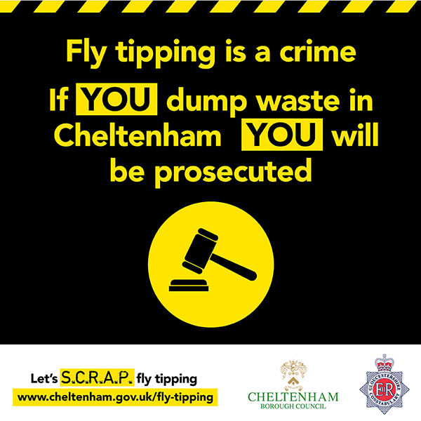 fly-tipping is an enviro-crime