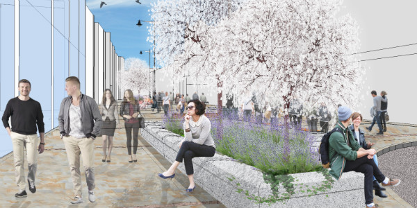 Artist impression of High Street refresh
