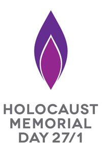 purple flame holocaust memorial day