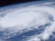 Photo of Hurricane Frances taken from the International Space Station