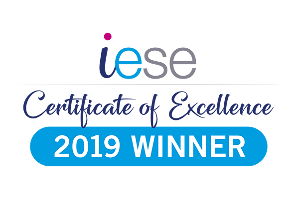 Iese certificate of excellence winner 2019 logo