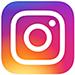 Instagram icon - white camera on multi-coloured square