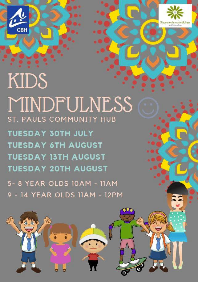 Kids mindfulness for August NCLB