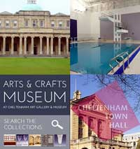 Quad of images depicting leisure and culture in Cheltenham