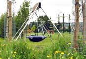 Play equipment in Naunton Park