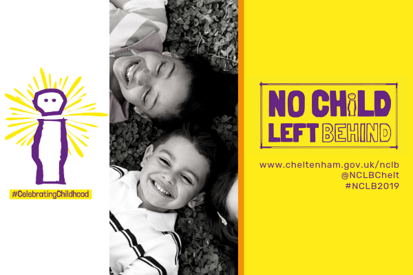 No child left behind campaign celebrating childhood