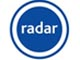 The logo for radar
