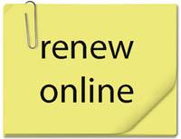 renew online post-it note