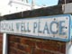 Royal well place street sign