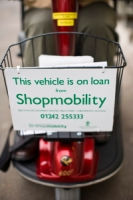 shopmobility scooter