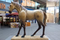 Horse sculpture - sponsor Ellenborough Park Hotel