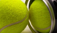 Tennis balls in a tube