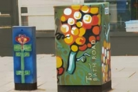 Painted utility boxes in Bath Road. Image credit to 'pyride' on flickr. https://www.flickr.com/photos/pyride
