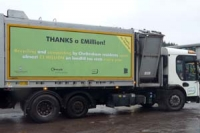 New look recycling vehicle