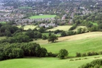 View from Leckhampton Hill