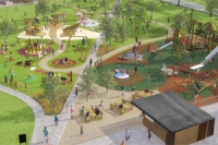 Design for new Pittville Park play area
