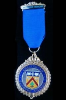 The Cheltenham Medal of Honour on a black background