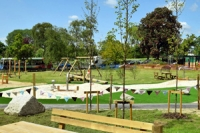 Shot of new Pittville Play area