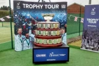 Davis Cup on the trophy tour