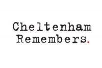 Cheltenham Remembers logo by Hills Design