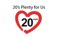 20 is plenty logo