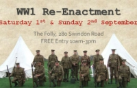 The great war society at a re-enactment camp