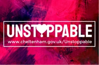 Unstoppable campaign logo