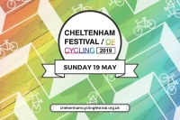 Cheltenham Festival of Cycling - May 2019 logo