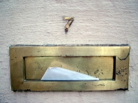 letter in letterbox