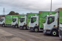 recycling ubico trucks