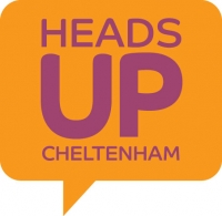 Heads Up Cheltenham logo