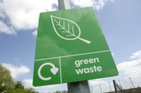 green waste sign